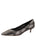 Womens Black Pearl Deluxe Pointed Toe Kitten Heel Alternate View