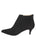 Womens Black Suede Brandi Pointed Toe Bootie 7