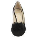 Womens Black Suede Piper 4