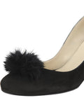 Womens Black Suede Piper 6