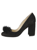 Womens Black Suede Piper 7