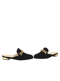 Womens Black Suede Tara 5