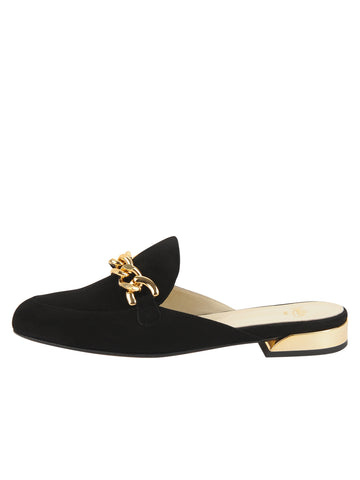 Womens Black Suede Tara 7