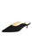 Womens Black Suede Berta Kitten Heel Mule Alternate View
