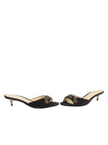 Womens Black Suede Betteye 5