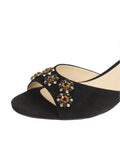 Womens Black Suede Betteye 6