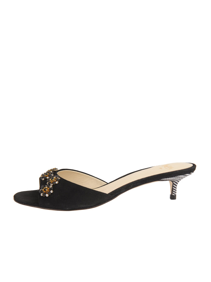 Womens Black Suede Betteye 7