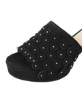 Womens Black Suede Carina 6