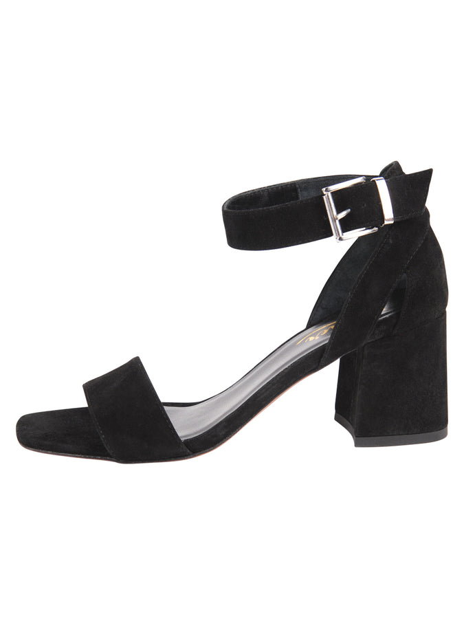 Womens Black Suede Feline 7