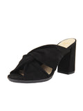 Womens Black Suede Hannah