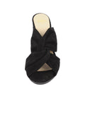Womens Black Suede Hannah 4