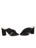 Womens Black Suede Hannah 5