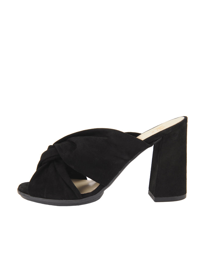 Womens Black Suede Hannah 7