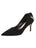 Womens Black Suede Kara Pointed Toe Pump Alternate View