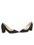 Womens Black Suede Kay 5