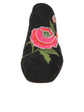 Womens Black Suede Salerno 4