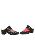 Womens Black Suede Salerno 5