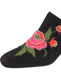 Womens Black Suede Salerno 6