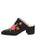 Womens Black Suede Salerno 7