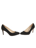 Womens Black Suede Virtue 5