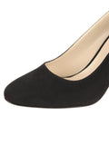 Womens Black Suede Virtue 6