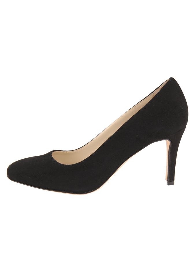 Womens Black Suede Virtue 7