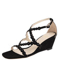 Womens Black Suede Nory