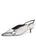 Womens Black/White Snake Drake Slingback Alternate View