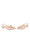 Womens Blush Patent Bee 5