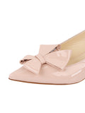 Womens Blush Patent Bee 6