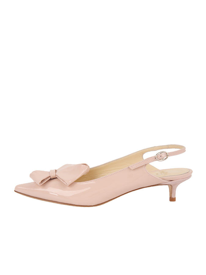 Womens Blush Patent Bee 7
