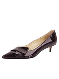Womens Bordo Cosmic Patent Bliss Kitten Heel