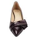 Womens Bordo Cosmic Patent Bliss Kitten Heel 4