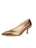 Womens Brass Patent Softly Pointed Toe Pump Alternate View