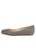 Womens Check Print Cloud Square Toe Flat 7
