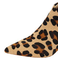 Womens Cheetah Haircalf Weston Pointed Toe Bootie 6