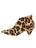 Womens Cheetah Haircalf Weston Pointed Toe Bootie 7