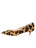 Womens Cheetah Haircalf Born Pointed Toe Kitten Heel 7