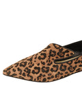Womens Cheetah Max Pointed Toe Flat 6