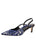 Womens Cobalt Cheetah Nadette Pointed Toe Slingback Alternate View