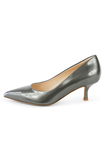 Womens Iron Patent Softly Pointed Toe Pump 7