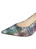 Womens Metallic Yarn Nova Pointed Toe Pump 6