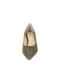 Womens Mini Leopard Glitter Nova Pointed Toe Pump 4