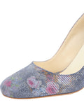 Womens Navy Floral Stamp Onima 6