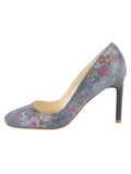 Womens Navy Floral Stamp Onima 7