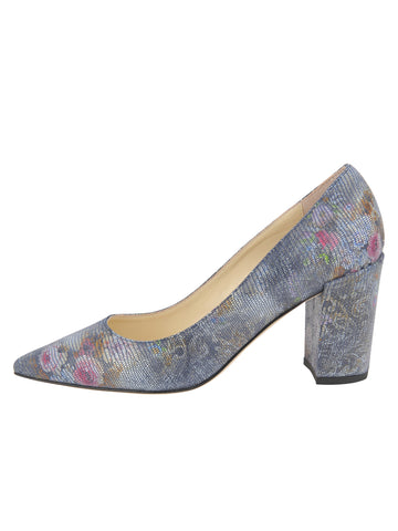 Womens Navy Floral Stamp Kay 7