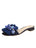 Womens Navy Grograin Yolanda Embellished Sandal Alternate View