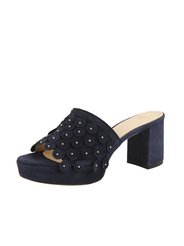 Womens Navy Suede Carina Alternate View