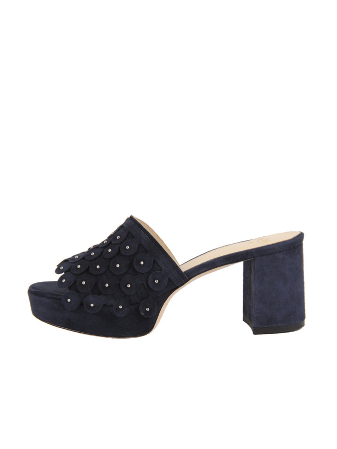 Womens Navy Suede Carina 7