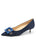 Womens Navy Suede Diana Pointed Toe Kitten Heel Alternate View